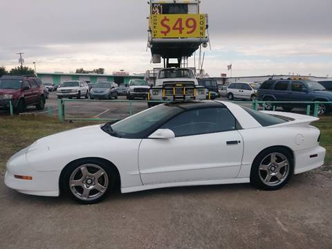 1997 Pontiac Firebird Trans Am for sale in Dallas, TX