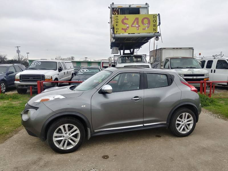 2013 Nissan JUKE for sale at USA Auto Sales in Dallas TX