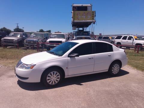 2007 Saturn Ion for sale at USA Auto Sales in Dallas TX