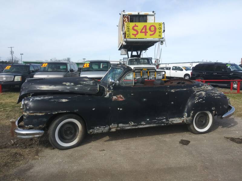 1947 Chrysler Imperial for sale at USA Auto Sales in Dallas TX