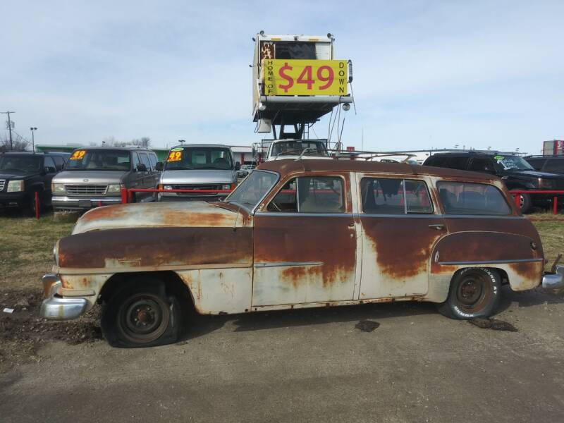 1951 Chrysler Town and Country for sale at USA Auto Sales in Dallas TX