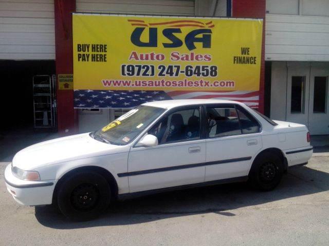 1992 Honda Accord LX In Dallas TX - USA Auto Sales