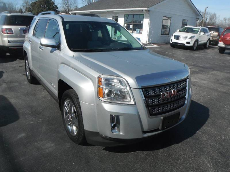2013 GMC Terrain for sale at Morelock Motors INC in Maryville TN