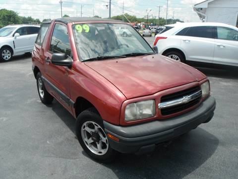 1999 chevrolet tracker for sale in glasgow ky. Black Bedroom Furniture Sets. Home Design Ideas