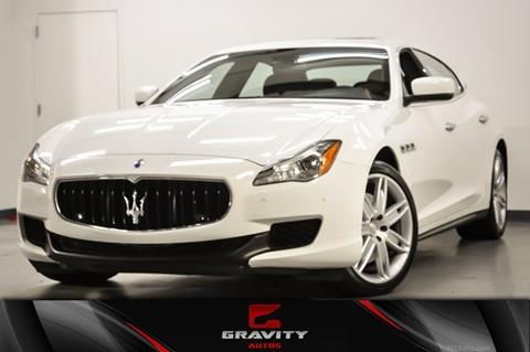 2016 Maserati Quattroporte for sale in Roswell, GA