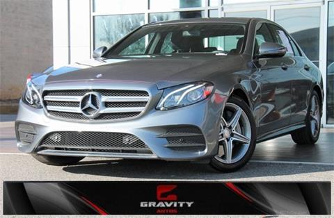 2017 Mercedes-Benz E-Class for sale in Roswell, GA
