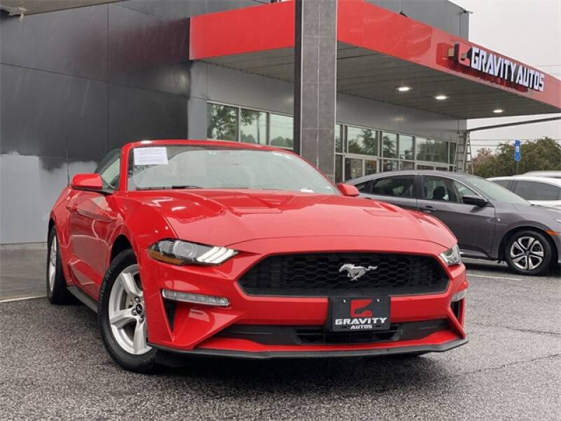2019 Ford Mustang EcoBoost 2dr Convertible - Roswell GA