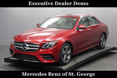 2019 Mercedes-Benz E-Class for sale in Saint George, UT