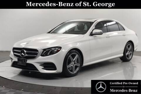2017 Mercedes-Benz E-Class for sale at Stephen Wade Pre-Owned Supercenter in Saint George UT