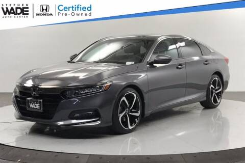 2019 Honda Accord for sale at Stephen Wade Pre-Owned Supercenter in Saint George UT