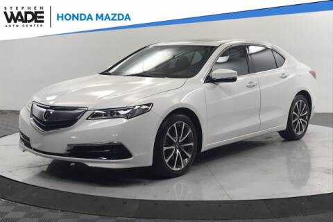 2017 Acura TLX for sale at Stephen Wade Pre-Owned Supercenter in Saint George UT