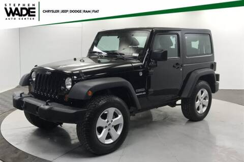 2013 Jeep Wrangler for sale at Stephen Wade Pre-Owned Supercenter in Saint George UT