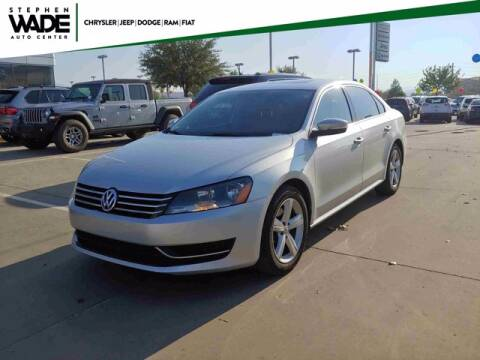 2013 Volkswagen Passat for sale at Stephen Wade Pre-Owned Supercenter in Saint George UT
