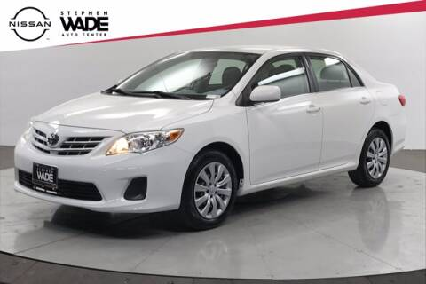 2013 Toyota Corolla for sale at Stephen Wade Pre-Owned Supercenter in Saint George UT
