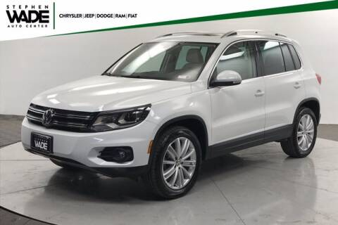 2016 Volkswagen Tiguan for sale at Stephen Wade Pre-Owned Supercenter in Saint George UT