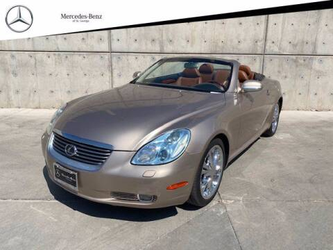 2004 Lexus SC 430 for sale at Stephen Wade Pre-Owned Supercenter in Saint George UT