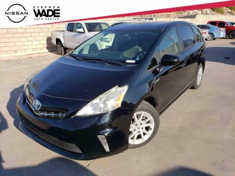 2012 Toyota Prius v for sale at Stephen Wade Pre-Owned Supercenter in Saint George UT