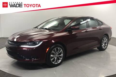 2015 Chrysler 200 for sale at Stephen Wade Pre-Owned Supercenter in Saint George UT