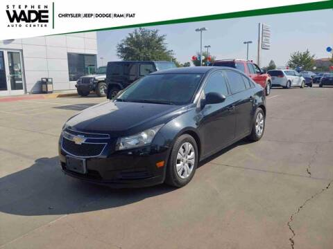 2013 Chevrolet Cruze for sale at Stephen Wade Pre-Owned Supercenter in Saint George UT