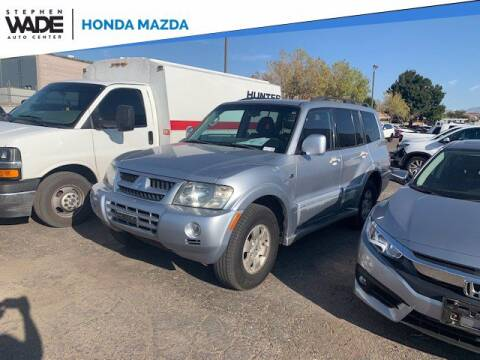 2004 Mitsubishi Montero for sale at Stephen Wade Pre-Owned Supercenter in Saint George UT