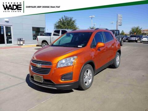 2015 Chevrolet Trax for sale at Stephen Wade Pre-Owned Supercenter in Saint George UT