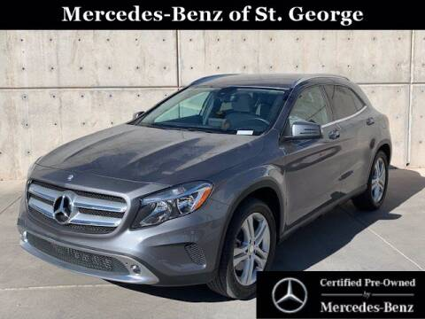 2017 Mercedes-Benz GLA for sale at Stephen Wade Pre-Owned Supercenter in Saint George UT