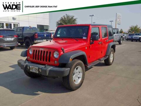 2018 Jeep Wrangler JK Unlimited for sale at Stephen Wade Pre-Owned Supercenter in Saint George UT