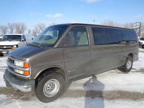 2002 Chevrolet Express Passenger G3500 LS for sale at King Cargo Vans INC in Savage MN