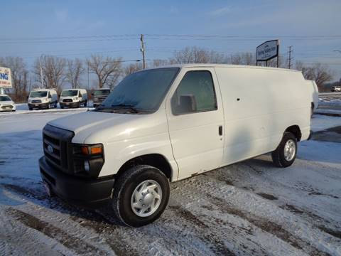 2012 Ford E-Series Cargo E-150 for sale at King Cargo Vans INC in Savage MN