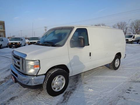 2009 Ford E-Series Cargo E-250 for sale at King Cargo Vans INC in Savage MN