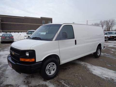 2014 Chevrolet Express Cargo 3500 for sale at King Cargo Vans INC in Savage MN