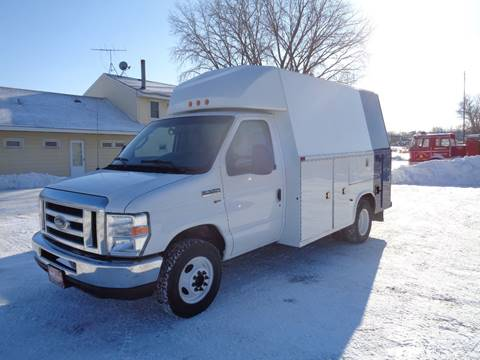 2014 Ford E-Series Chassis E-350 SD for sale at King Cargo Vans INC in Savage MN