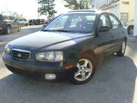 2003 Hyundai Elantra for sale at E & K Automotive in Derry NH