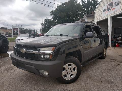 2003 Chevrolet Avalanche for sale at E & K Automotive in Derry NH