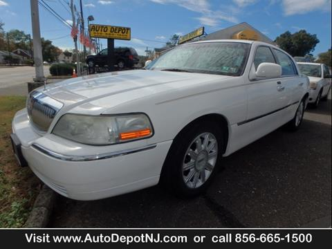 2006 Lincoln Town Car for sale in Berlin, NJ