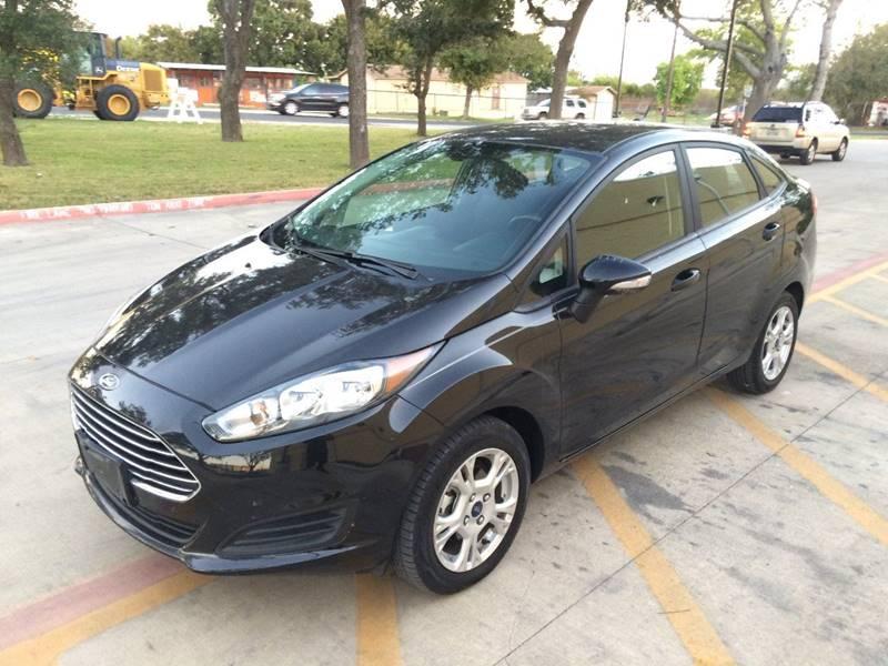 2015 Ford Fiesta ... & Ford Used Cars financing For Sale San Antonio GENESIS AUTOPLEX LLC markmcfarlin.com