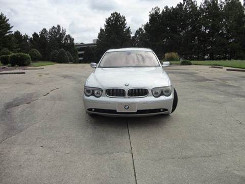2004 BMW 7 Series for sale at German Auto World LLC in Alpharetta GA