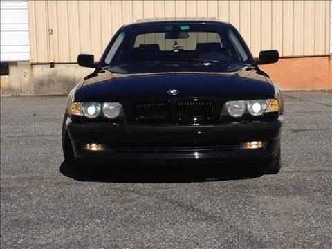 2001 BMW 7 Series for sale at German Auto World LLC in Alpharetta GA