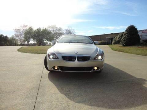 2006 BMW 6 Series for sale at German Auto World LLC in Alpharetta GA