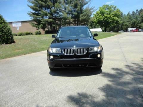 2008 BMW X3 for sale at German Auto World LLC in Alpharetta GA