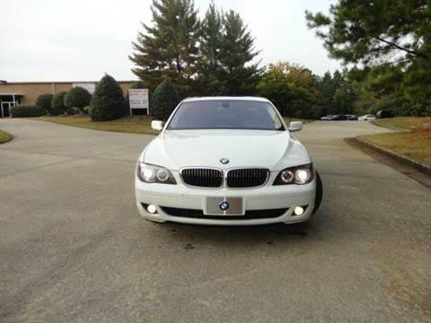 2006 BMW 7 Series for sale at German Auto World LLC in Alpharetta GA