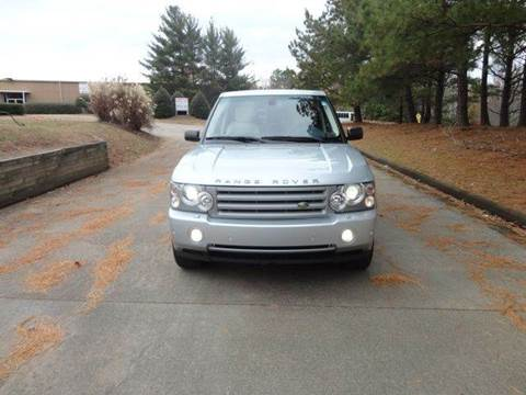 2007 Land Rover Range Rover for sale at German Auto World LLC in Alpharetta GA