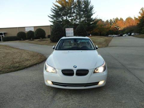 2008 BMW 5 Series for sale at German Auto World LLC in Alpharetta GA
