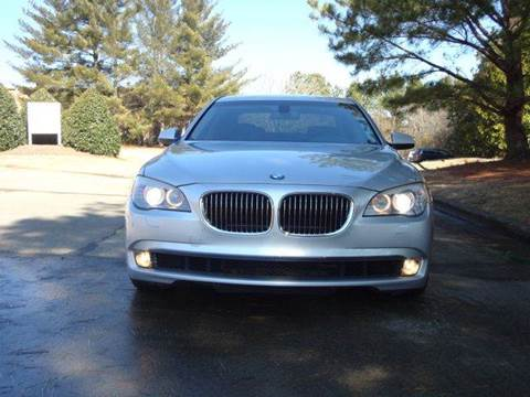 2009 BMW 7 Series for sale at German Auto World LLC in Alpharetta GA