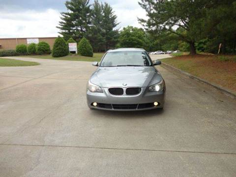 2004 BMW 5 Series for sale at German Auto World LLC in Alpharetta GA