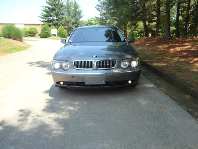 2003 BMW 7 Series for sale at German Auto World LLC in Alpharetta GA