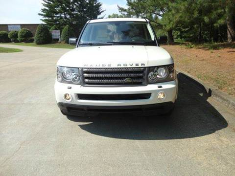 2008 Land Rover Range Rover Sport for sale at German Auto World LLC in Alpharetta GA