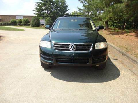 2004 Volkswagen Touareg for sale at German Auto World LLC in Alpharetta GA