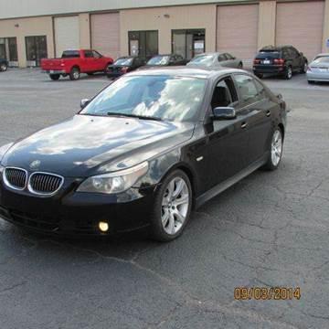 2005 BMW 5 Series for sale at German Auto World LLC in Alpharetta GA