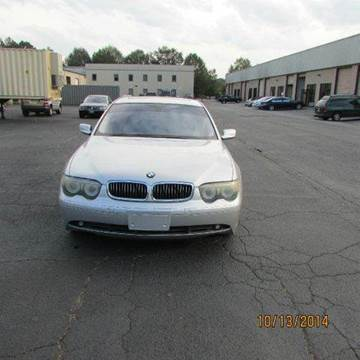 2005 BMW 7 Series for sale at German Auto World LLC in Alpharetta GA